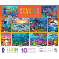 Seaside 10-Puzzle Multipack