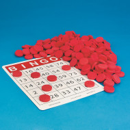 Quiet Bingo Chips (pack of 250)