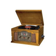Crosley® Lancaster Entertainment Center, Oak