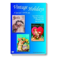Vintage Holidays DVDs ( of 3)