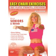 Easy Chair Exercises with Sunshine DVD, Pilates and Calisthenics