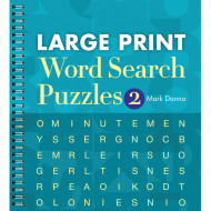 Large Print Word Search Puzzle Book Vol. 2