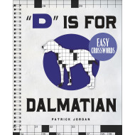 Dalmatian Easy Crossword Puzzle Book