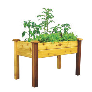 Gronomics® Elevated Garden Bed, Medium/Tung Oil Finished