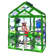 Ogrow Walk-In Greenhouse, 3–Tier, 6-Shelf