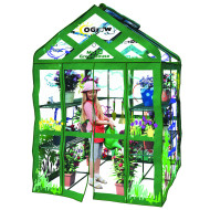 Ogrow Walk-In Greenhouse, 3–Tier, 12-Shelf