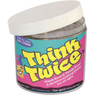 Think Twice in a Jar Game