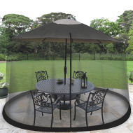 Outdoor Umbrella Table Screen
