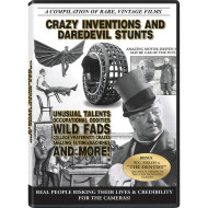 Crazy Inventions and Daredevil Stunts DVD
