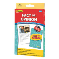 Fact or Opinion Comprehension Cards