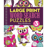 Large Print Word Search Puzzle 3