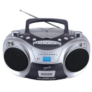 Portable MP3 CD AM/FM Cassette Recorder with USB