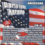 Party Tyme Karaoke CD+G Americana