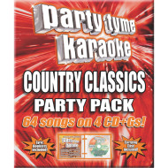 Party Tyme Karaoke Music (pack of 4)