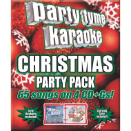 Party Tyme Karaoke CD+G Christmas Party Pack ( of 4)