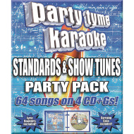 Party Tyme Karaoke CD+G Standard Showtunes Pack (pack of 4)