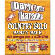 Party Tyme CD+G Country Gold Party Pack (pack of 4)