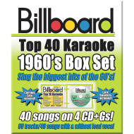 Party Tyme Karaoke CD+G Billboards 60's Box Set ( of 4)