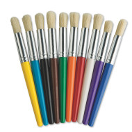 Assorted Stubby Brushes  (pack of 10)