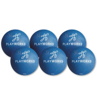 "10"" Playworks Dodge Ball, Blue (pack of 6)"