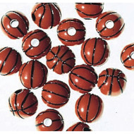 Basketball Beads- 1lb. (bag of 550)