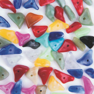 Polished Gem-Look Beads (bag of 50)