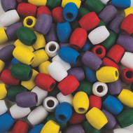 Wooden Barrel Beads  (bag of 100)