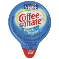 Coffee Mate Non-Dairy Creamer, French Vanilla (pack of 180)
