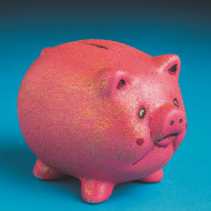 Color-Me™ Ceramic Bisque Pig Banks (makes 12)