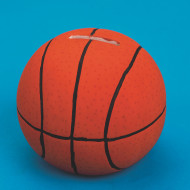 Color-Me™ Ceramic Bisque Basketball Banks (makes 12)