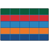Color Blocks Kid$ Value Plus™ Rug 6