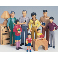 Asian Play Family  (set of 8)