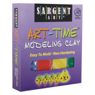 Sargent Art-Time Assorted Color Clay