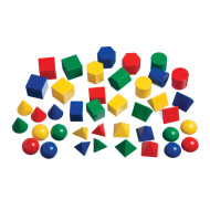 Geometric Solids (set of 40)
