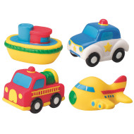 Soft Vehicles (set of 4)