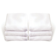 Crib Sheet, White (pack of 6)
