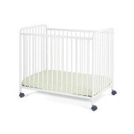Chelsea Slatted Steel Crib