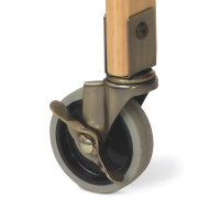 SafetyCraft Evacuation Casters in Brass (set of 4)