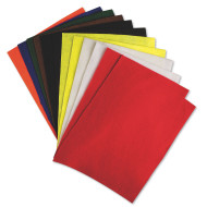 Multicolor Felt Sheets  (pack of 12)