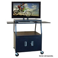 Wide Body Flat Panel Cabinet Cart