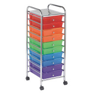 Mobile Storage Cart 10 Drawer