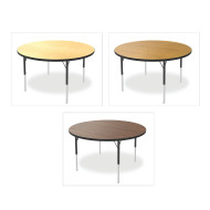 "Marco® Activity Tables, Wood Top, 48"" Round 21-30""H"