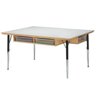 Classroom Cubbie Table without Trays