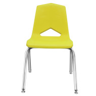 Marco Chair, Yellow Shell Chrome Frame