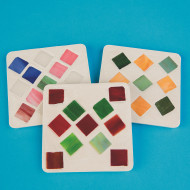 Mosaic Coaster Craft Kit  (makes 12)