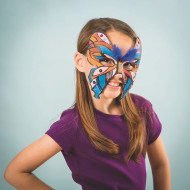 Butterfly Mask Craft Kit (makes 12)