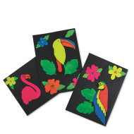 Tropical Birds Craft Kit (makes 36)