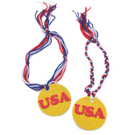 Go for the Gold Medals Craft Kit (makes 48)