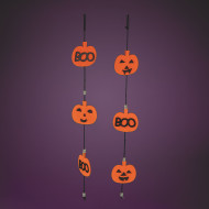 Jack-O-Lantern Garland Craft Kit (makes 12)