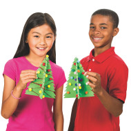 Sparkle Tree Craft Kit (pack of 12)